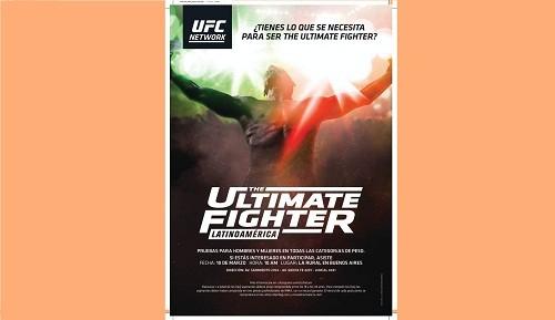 UFC® llega el 10 de marzo a Argentina, con un casting abierto para The Ultimate Fighter®Latinoamérica