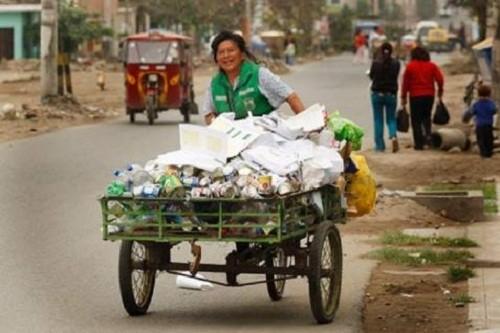 Cerca de 18 mil toneladas de basura se producen diariamente en el Perú