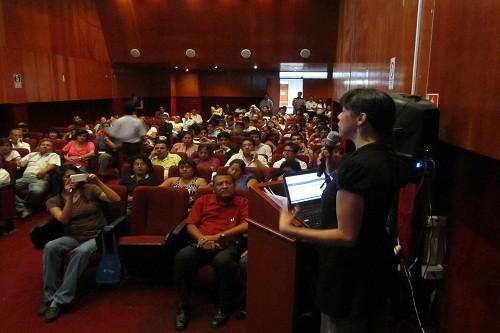Seminario Internacional en Huacho logró participación masiva de empresarios y profesionales de turismo