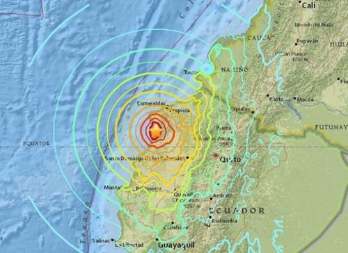 Un terremoto remece una vez más a Ecuador
