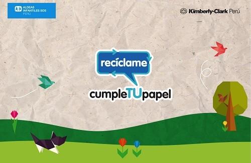 Efact se suma a campaña de reciclaje de Aldeas Infantiles
