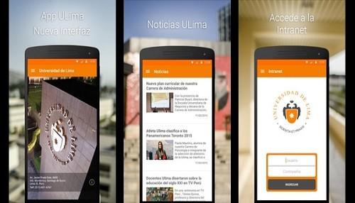 Universidad de Lima renueva APP móvil para comunidad universitaria