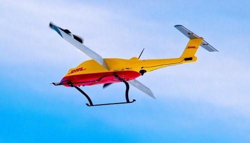 Integración de prueba exitosa del Parcelcopter de DHL en la cadena de logística