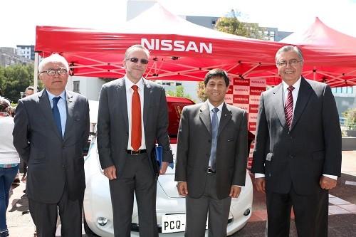 Nissan LEAF fue parte de la Jornada Francófona realizada en la Pontificia Universidad Católica del Ecuador