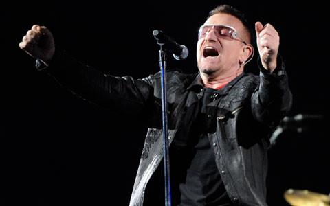 Bono en contra de la descarga libre de música desde la Red