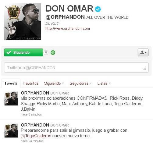 Don Omar da a conocer sus nuevas colaboraciones