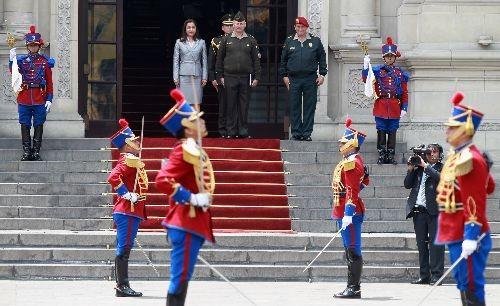 Vicepresidenta Marisol Espinoza asumió Presidencia de la República