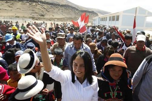Nadine Heredia se reunirá con altas funcionarias internacionales en Estados Unidos