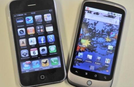 Apple gana en lucha de patentes a fabricante de smartphone de Google