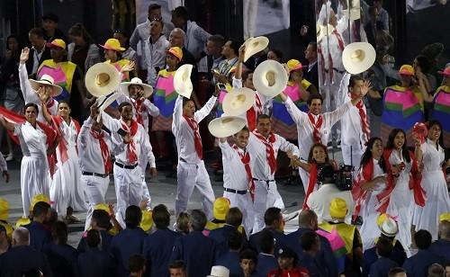 Delegación peruana se llevó los aplausos en inauguración de los Juegos Olímpicos Río 2016