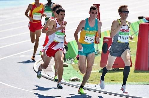 David Torrence clasificó a la final de los 5 mil metros en Río 2016