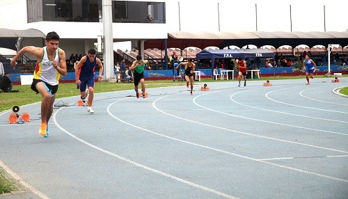 Campeonato Nacional de Atletismo Sub 23 se inició en la Videna