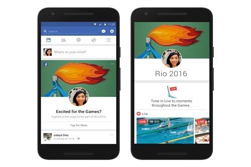 Juegos Olímpicos de 2016: 285 millones de espectadores únicos en videos en Facebook