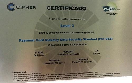 Los Servicios de Colocation de Level 3 en los Data Center de Brasil obtienen el Certificado de Cumplimiento PCI DSS