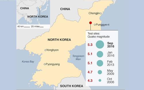 Corea del Norte desata la indignación mundial por prueba nuclear