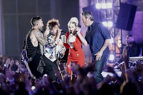 The Voice SN. 11: Miley Cyrus llega para romperla