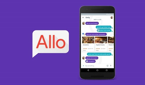 Google lanzó su nueva app de chat Allo (VIDEO)