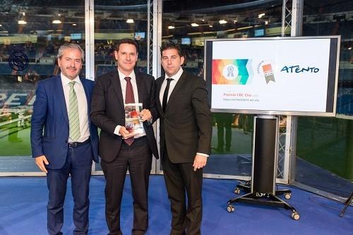 Atento recibe el galardón CRC de Oro 2016 al Mejor Outsourcer en España