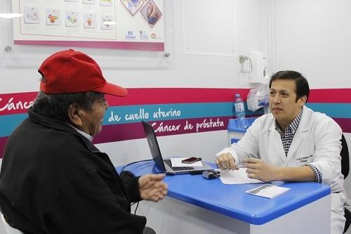 Chequeos EsSalud continúa con despistajes de cáncer en Puente Piedra