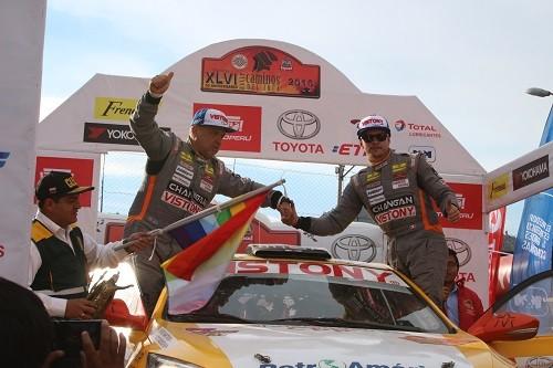 Hart y Dasso primeros en la S2000 en Cusco