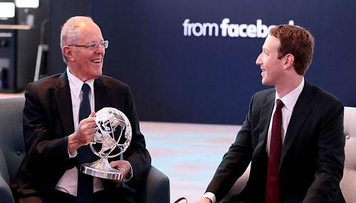 Presidente Kuczynski y Mark Zuckerberg dialogan sobre cómo potenciar servicios de salud, educación entre otros