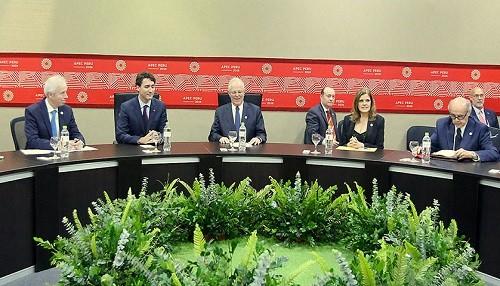 Mandatario Kuczynski y Primer Ministro de Canadá sostuvieron encuentro bilateral en el marco del foro APEC 2016
