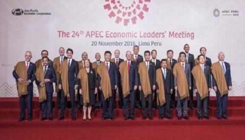 """Líderes de APEC aprobaron """"Declaración de Lima sobre el Área de Libre Comercio de Asia Pacífico"""""""