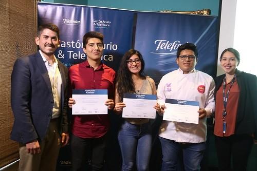 Ocho jóvenes talentos de la gastronomía peruana realizarán pasantías  en España