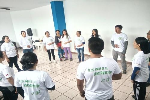"""SERNANP: Más de 100 jóvenes se graduarán como """"Hinchas de la Conservación"""""""