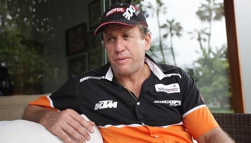 Carlo Vellutino busca revancha en el Dakar 2017