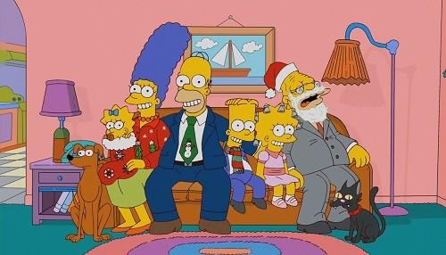 En FOX vive la Navidad y el Año Nuevo con Los Simpson y las mejores películas