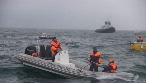 Rusia: Hallan una 'caja negra' del avión que se estrelló en el Mar Negro