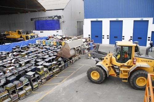 Mincetur decomisó 792 máquinas tragamonedas de uso ilegal durante el 2016