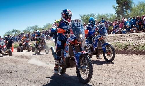 Dakar 2017: Carlo Vellutino se mantiene entre los 100 mejores en motos