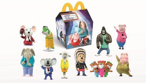 """Cajita Feliz de McDonald's se llena de música y diversión con los personajes de """"Sing ¡Ven y canta!"""""""