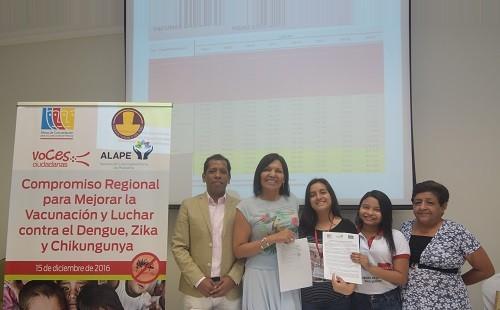 Encuentro entre Perú y Ecuador para  mejorar la vacunación y luchar contra el dengue