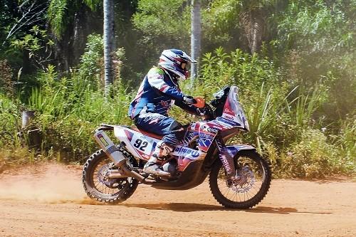 Dakar 2017: Carlo Vellutino se consolida entre los 100 mejores en motos