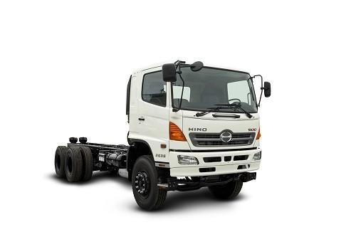 Por tercer año consecutivo, Hino lideró el mercado de camiones y remolcadores
