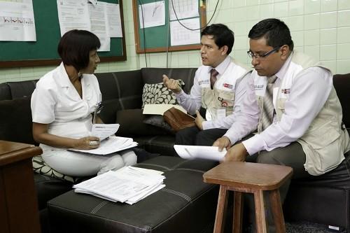 SUSALUD supervisó Hospital Nacional Dos de Mayo para comprobar abastecimiento de medicamentos