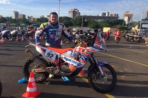 Misión cumplida: Carlo Vellutino finaliza su 8vo Dakar