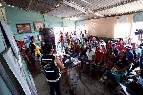 MML realiza estimación de riesgos de viviendas de asentamientos humanos en Villa El Salvador