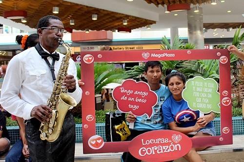 MegaPlaza y Ritmo Romántica celebran el día del amor con un gran Festival de Baladas.