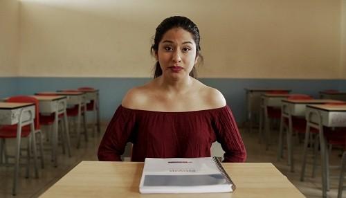 """Wendy Sulca cuenta que en el colegio le dijeron """"Serrana, no perteneces aquí"""" y se suma #educaciónconigualdad"""