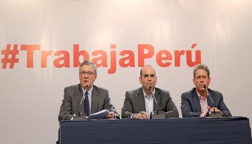 Zavala: Programa Trabaja Perú brindará empleo temporal a damnificados en regiones en emergencia