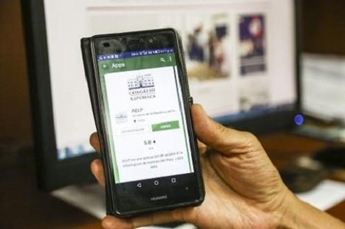 Congreso lanza app para acceder gratis a leyes y resoluciones legislativas