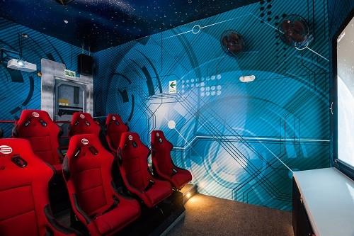 Increíble parque de diversiones de realidad virtual se encuentra en MegaPlaza