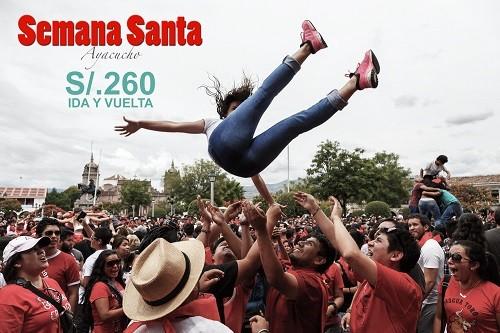 Semana Santa en Ayacucho a un precio accesible