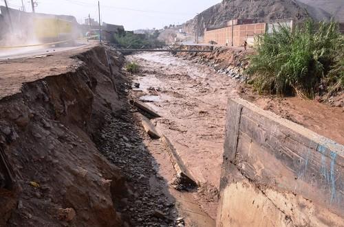 Municipalidad de Ventanilla evacuará 50 familias de la ribera del río Chillón a zona segura