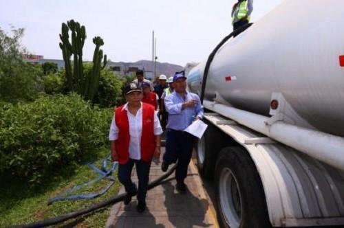 Se necesitan más camiones cisternas de agua para abastecimiento de población