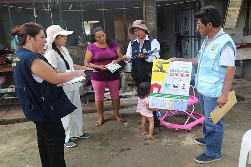 Ministra de Salud invoca a damnificados a dejar fumigar sus viviendas